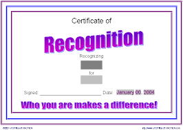 recognition templates