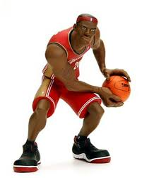 basketball action figure