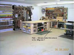 shop work bench
