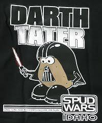 darth tater t shirt