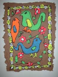 mexican bark art