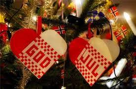 norwegian christmas ornament