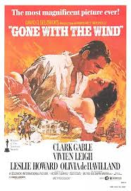 gone with the wind movie posters