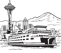 space needle clipart