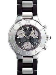 cartier must 21 chronograph