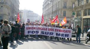 demonstrations in france