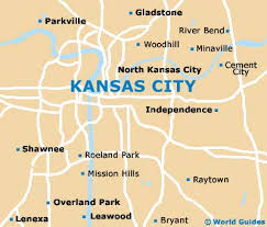 map of kansas with cities