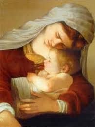 paintings of mary mother of god