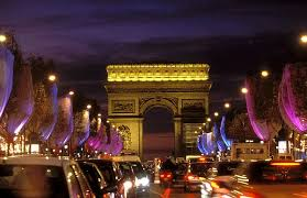 champs elysees pictures
