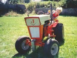 jacobsen garden tractors