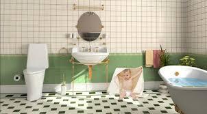 bathroom baby