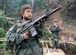 child soldier photos