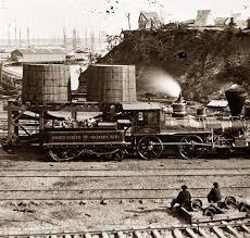 trains in the civil war