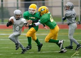boys playing sports