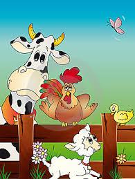 cartoon farm pictures