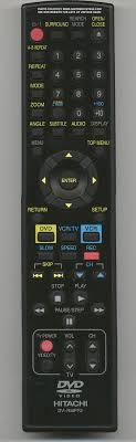 hitachi tv remote