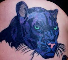 black panther tattoos