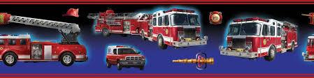 fire truck borders