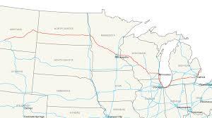 interstate 94 map