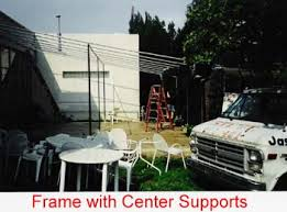 center supports
