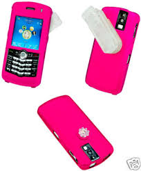blackberry pearl pink cases
