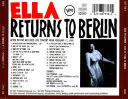 Ella Fitzgerald - Ella Returns To Berlin