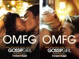 gossip girl advertisements