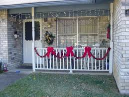 christmas porch