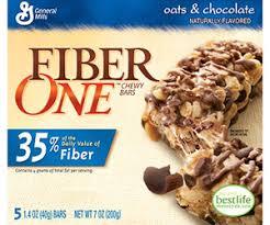 fiber one cereal bar
