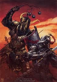 black knight art