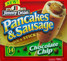 jimmy dean pancakes and sausage on a stick