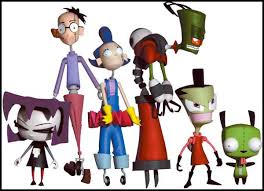 invader zim figurines