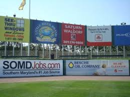 outfield fence