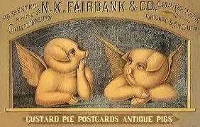 antique pigs