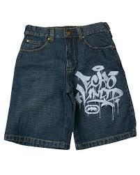 ecko denim shorts