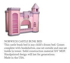castle bunkbeds
