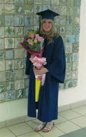 graduation flower arrangement