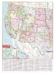 map western united states
