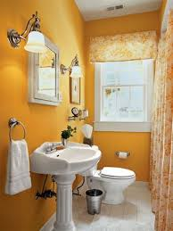 yellow bath
