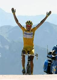 cycling yellow jersey