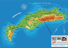 kos island map