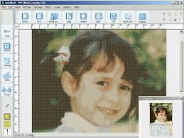 photo to cross stitch pattern