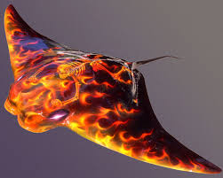 flamed fish