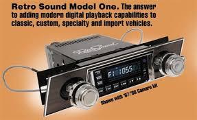 retro car audio