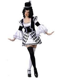 harlequin clown costumes