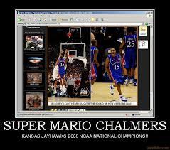 mario chalmers poster