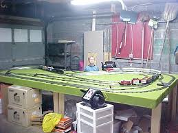 o scale train layout
