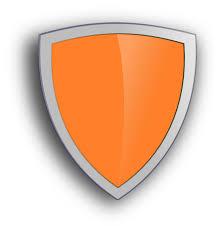 blank shield clip art