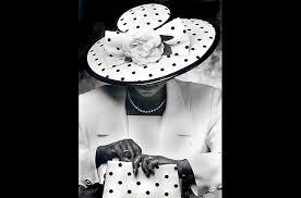 black women in church hats