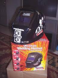 custom painted welding helmet